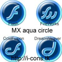 Studio MX Plastic Aqua Circles by mmr85