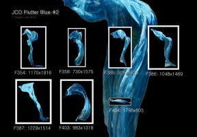 JCO Flutter Pack - Blue 2 by geoectomy-stock