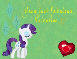 MLP Valentine Rarity by JiMMY--CHaN