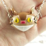 Catbus necklace by TrenoNights