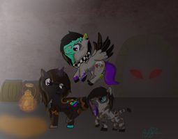 Amnesia Ponies by Splattered-Hearts