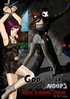 Godsister Snoops House Warming terror by DamselComics