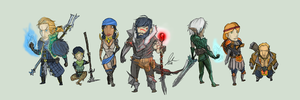 Hawke and the gang by MasterJosho
