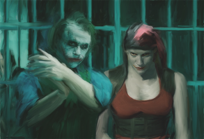 Harley and the Joker by PZNS