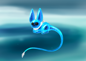 Baby Chilimeow by infinityunbound