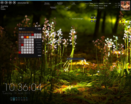 1st Desktop of Win8PROWMC by deeprana94