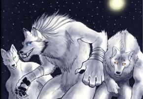 bad wolves by missmonster