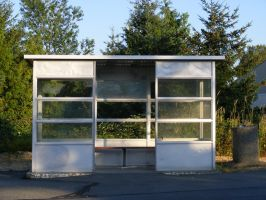 Bus Stop by Limited-Vision-Stock