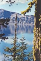 Landscape Stock - Crater Lake by Carol-Moore