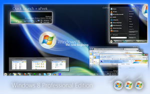 Windows 8 Pro by mufflerexoz