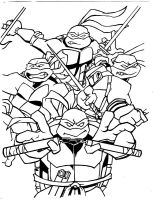 Ninja Turtles by StarGazer1