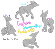 Custom Sleepwalker Auction! .:CLOSED:. by QueenEgg