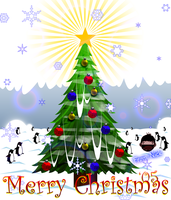 Christmas E-Card 2005 by cow41087
