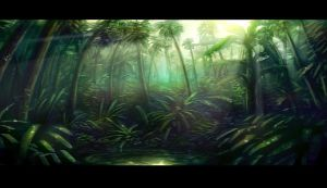 Hutan Tropis (tropical jungle) by wacko27