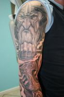 viking full sleeve project 1 by gettattoo