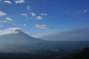 Merapi Mountain by HBPhotowork