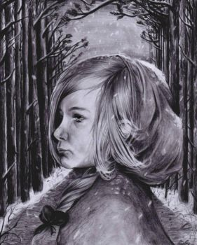 Little Red Riding Hood by gygyink