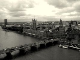 London big ben city by cottoncandycookie