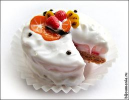"Cake ""Cream with fruit"" by allim-lip"