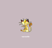 Meowth 052 by juenavei