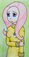 Human Fluttershy by Punisher2006