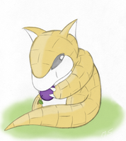 Sandshrew by MSFeather