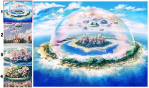Dream Bubble Island by benryyou