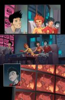 Teen Titans: Year One p.10 by JohnRauch