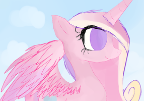 Princess Cadance dA Muro Colored in Paint Tool SAI by MissMagicalWolf