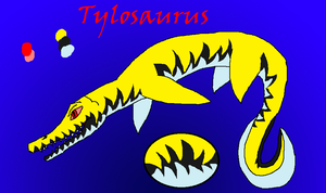 Tylosaurus Adoptable For HappyHippowdon by LavaSpinosaurus