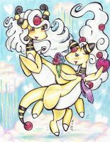 Ampharos Amore: Atticus and Ambrosia by Matsuban