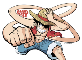 Meet Monkey D. Luffy by TheSteveYurko