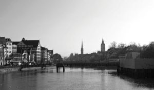 Zurich in black and white by CiaSalonica