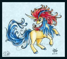 Keldeo by Shivita