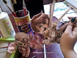 Attack on table by Mistiqarts