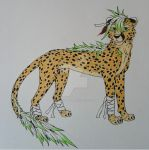 Boy cheetah by DayDreamer-JJ
