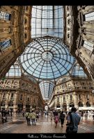 Galleria Vittorio Emanuele II by erhansasmaz