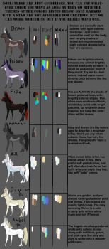 EI'FAY COLORATION GUIDELINES by Ei-fay
