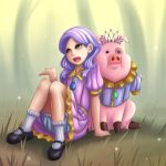 Tiara and Waddles by NinjaHam