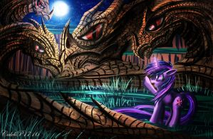 Twilight Vs. The Hydra by CalebP1716