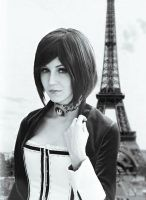 Elizabeth in Paris by ver1sa