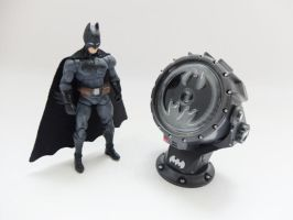 4 inch scale Batman custom action figure by Jedd-the-Jedi