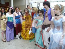 Undead Disney Princesses by lunamaxwell
