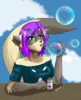 sasha bubbles by Foxxie-Angel