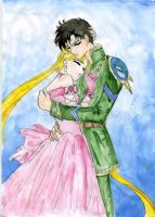 mamoru and usagi by MAMORU-odinokiy-volk