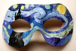Starry Night Mask by Drocan