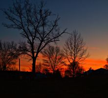 The Sunset is so pretty by kshelton2011