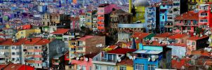 Colorful City by TanBekdemir
