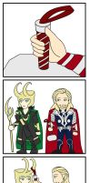 Thor and Loki by jHYtse