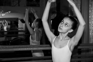 Ballet class 1 by DominaWhite